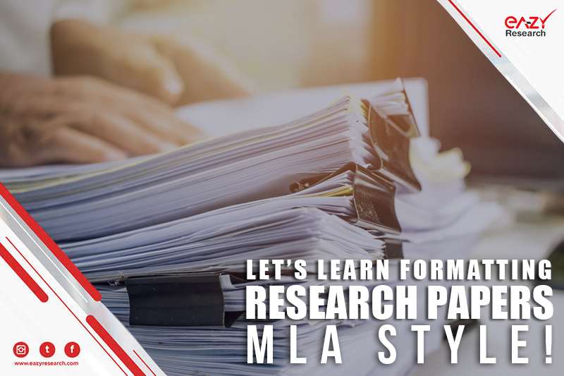 Let's Learn Formatting Research Papers MLA Style!